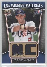 2009 Upper Deck Signature Stars USA Winning Materials #UWM-2 Nick Castellanos