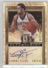 2011-12 Panini Gold Standard Superscribe Signatures #36 Landry Fields Auto Card