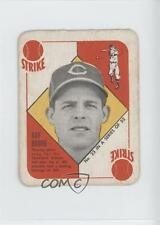 1951 Topps Red Backs #23 Ray Boone Cleveland Indians RC Rookie Baseball Card