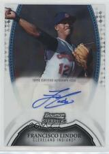 2011 Bowman Sterling MLB Future Stars Autographs #BSP-FL Francisco Lindor Auto