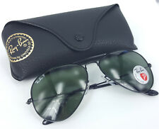 Original Polarized RAY BAN Sunglasses RB 3025 Metal 002/58 58 & 62 RRP $220 AUD