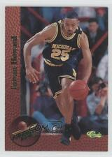 1995 Classic Superior Pix #5 Juwan Howard University of Michigan Wolverines Card