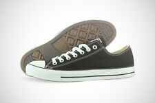 Converse All Star Chuck Taylor OX M9166 Black Canvas Shoes Medium (D, M) Mens