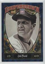 2013 Panini Cooperstown Collection Blue Crystal Shard #56 Stan Musial Card