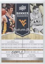 2009-10 Upper Deck Greats of the Game #125 Kevin Pittsnogle Jerry West Card