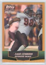 2004 Topps Draft Picks & Prospects Chrome Gold Refractor #158 Dwan Edwards Card