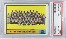 1961 Topps #554 Pittsburgh Pirates Team PSA 6 Baseball Card