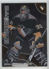 2001-02 In the Game Be A Player Between Pipes 6 Jean-Sebastien Aubin Hockey Card