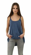 Blaumax Top CANDY 8200 Ink Blue - Blue - Strap Top + new +
