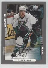 2000 Upper Deck MVP Third Star 6 Teemu Selanne Anaheim Ducks (Mighty of Anaheim)