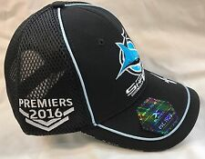 73636 CRONULLA SHARKS 2016 NRL PREMIERS MENS ADULT CAP HAT GRAND FINAL