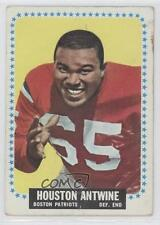 1964 Topps #2 Houston Antwine New England Patriots RC Rookie Football Card