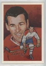 1987 Cartophilium Hockey Hall of Fame 228 Butch Bouchard Montreal Canadiens Card