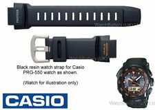 Genuine Casio Watch Strap.Replacement for Casio PRG-550  Watch Strap - Black
