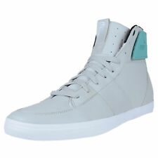 PUMA EL VUELO MID LEATHER FASHION SNEAKERS GRAY VIOLET CERAMIC GREEN 353130 01