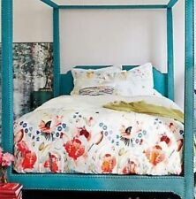 New Anthropologie Garden Buzz Boho Bedding Duvets * King Queen Sets & Euro Shams