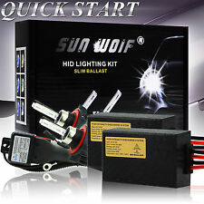 Xenon HID Conversion Kit 35W 55W AC Quick Start Fast Bright Head Lights Bulbs