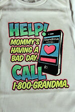 HELP! mommy's having bad day funny t-shirts tees one piece white baby NWOT cute