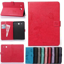 Smart Stand Cover Magnetic Folio Leather Sleep/Wake Case For Samsung Galaxy Tab