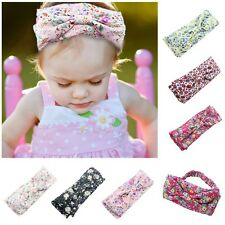 Infant Baby Girl Headwear Flower Elastic Bands Bowknot Headband Hair Accessories