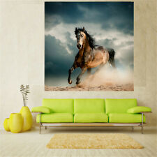 20-60cm Unframed Canvas Wall Hanging Art Painting Picture Decor Running Horse