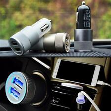 2.1a/1.0a Adapter 2-port Dual Usb Bullet Car Charger  for Iphone 5 6 Samsung