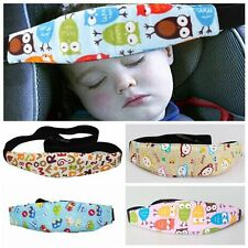 Adjustable Safety Pram Stroller Head Support Car Seat Sleep Fastening Belt