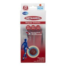 Scholl Orthaheel Regular - Shoe Support Insoles - Choose Size