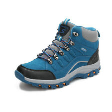 GOMNEAR men warm fur trail hiking boots outdoor non slip climbing athletic shoes