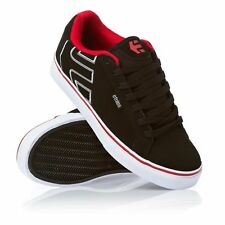 Etnies Fader Vulc Black/Red/White BMX Skate Shoes
