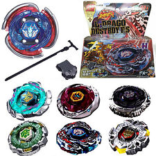 Mixed Beyblade 4D Fusion Top Metal Fight Master Rapidity Launcher Sets Kids Toys