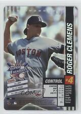 2002 MLB Showdown Pennant Run #091 Roger Clemens Boston Red Sox Baseball Card
