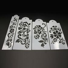 Plastic Cake Tool Floral Bakeware Stencil Pattern Spray Decoration Mold Printing