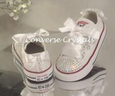 Baby Toddler Infant Custom Glass Crystal *Bling*Converse Sizes 2-10. All Colours