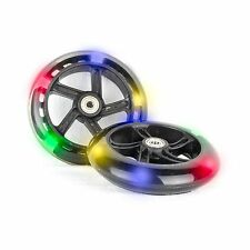 PU 145mm Light Up Wheels Replacement Wheels for Scooter Cityroller 5 LED - 2 Pcs