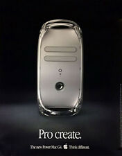 Vintage Apple Computer Power Mac G4 Pro Create Poster MINT - FREE SHIPPING
