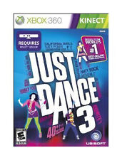 ***NEW!***Just Dance 3***Xbox 360***Exercise Work Out Game***SEALED GAME***