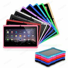 XGODY 7 inch Kids Android Tablet PC  Quad  Core 8GB WiFi HD Multi-Color Children