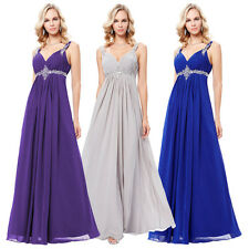 Elegant Chiffon Bridesmaid Formal Gown Party Cocktail Evening Prom Maxi Dress