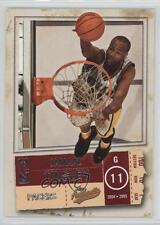 2004-05 Fleer Authentix #43 Jamaal Tinsley Indiana Pacers Basketball Card