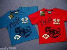 "Urban Crusade - Boys - Tshirt Top  Car -""RACING CLASSICS DIRTY SIDE"" size 3 - 7"