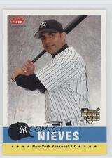 2006 Fleer Tradition #195 Wil Nieves New York Yankees Baseball Card