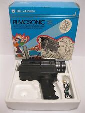Bell & Howell 1235 Filmosonic XL Sound Power Zoom Movie Camera With Box