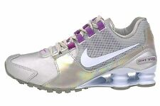Nike Shox Avenue SE Womens Size Running Shoes Metallic Silver Purple 844131 002