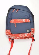 DC Shoes VICEROY Mens Laptop Compartment Backpack Bag Navy Blue NEW