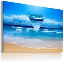 """AB70 ABSTRACT OCEAN ART Canvas Wall Art Abstract Picture Large Print 30X20"""""""