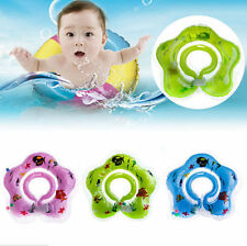 Aid Toy Safety Float Ring New Baby Newborn Bath Swimming Circle Neck Inflatable