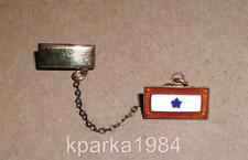 WW2 BLUE STAR SON IN SERVICE with 2nd LIEUTENANT RANK PIN STERLING