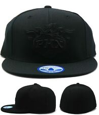 Phoenix Suns Adidas New PHX Triple Black on Black Out Era Fitted Hat Cap