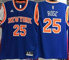 DERRICK ROSE NEW YORK KNICKS AWAY ROAD 2016-17 NBA REP JERSEY NEW NWT